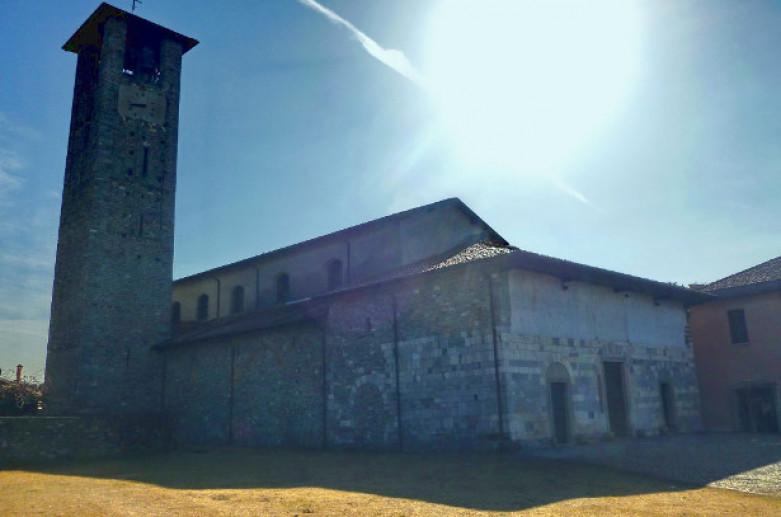 Visit the Abbey of San Donato in Sesto Calende