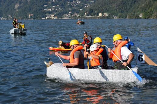 Carton Boat Race - Luino