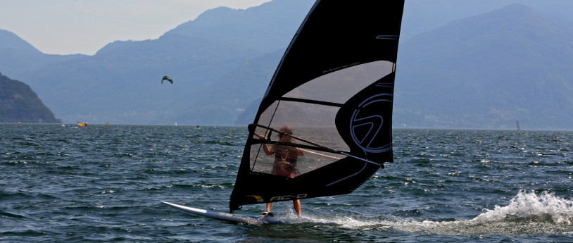 Windsurf, Como lake