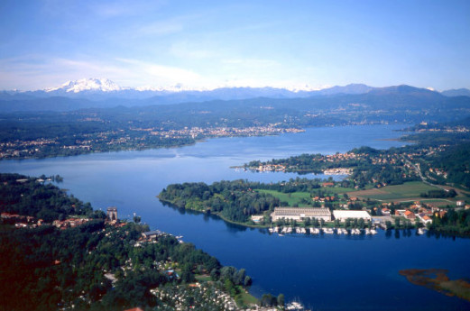 Sesto Calende: gateway at Lake Maggiore, along Ticino river