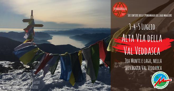 Alta Via della Val Veddasca 3-5 Luglio