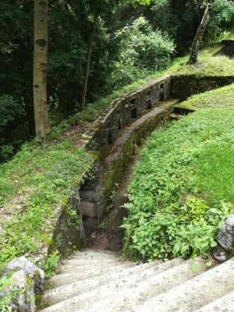 La  LINEA CADORNA: percorsi in Trincea