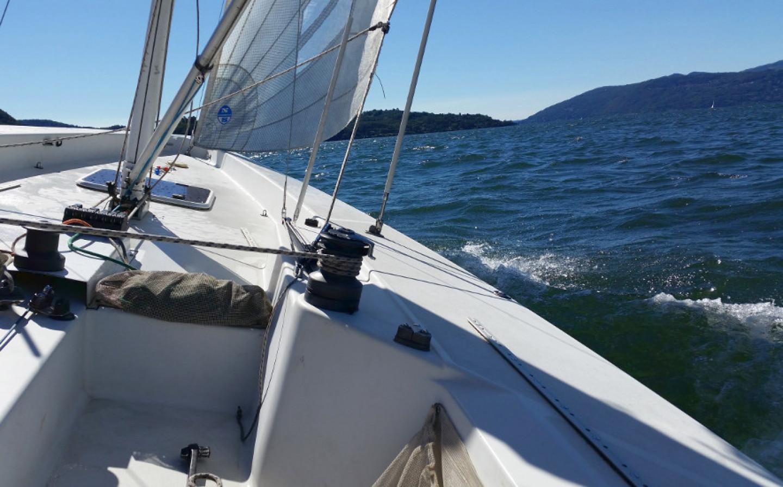 Sailing on Lake Maggiore