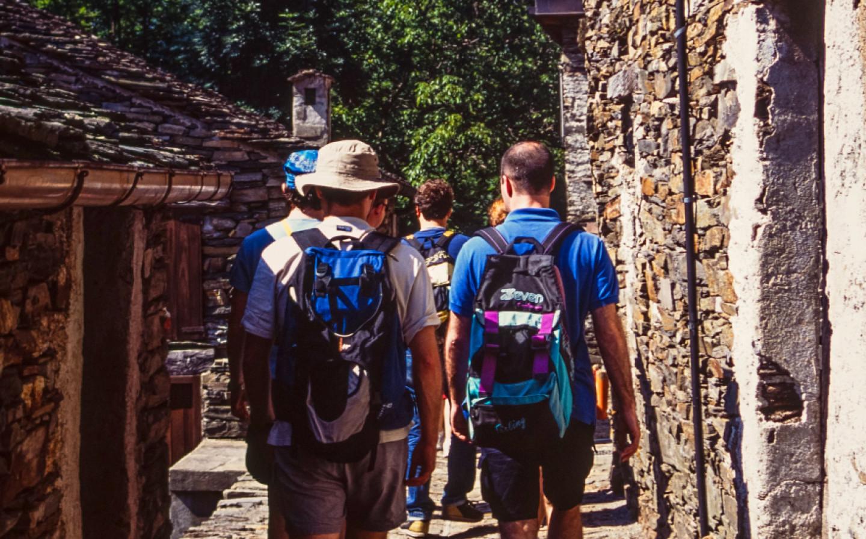 Trekking: walking in Monteviasco