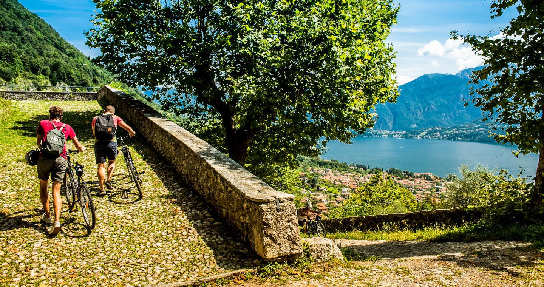 Salita al Sacro Monte di Ossuccio