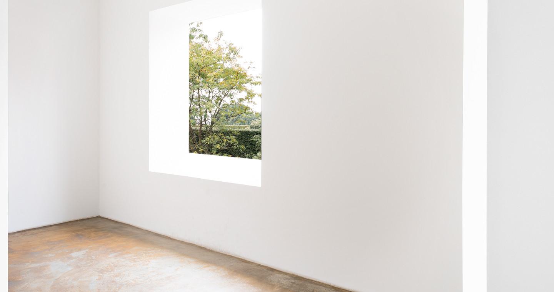 Installazione di Robert Irwin a Villa Panza, Varese.