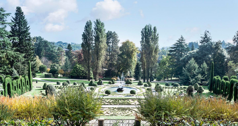Giardini di Villa Toeplitz a Varese.