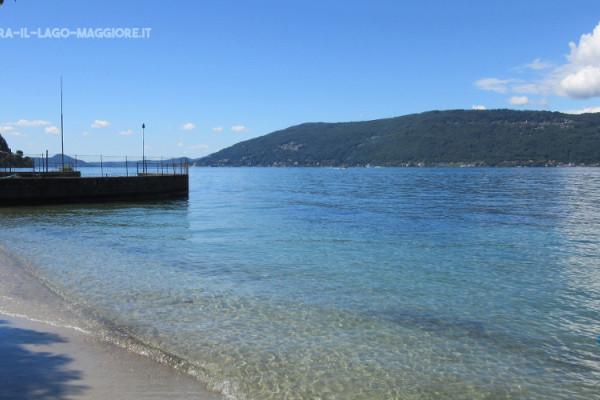 Spiaggia di Ceresolo, Laveno Mombello