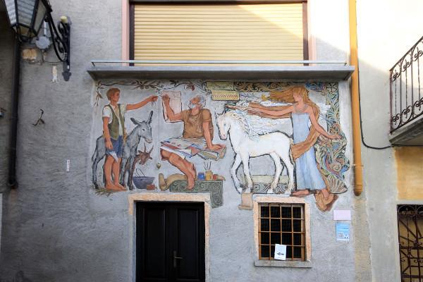 Il borgo dipinto Arcumeggia